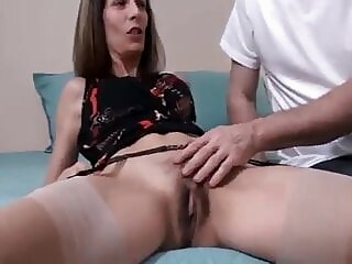 FFF-136 Son Blackmails Mom (Roleplay) mature stockings milf